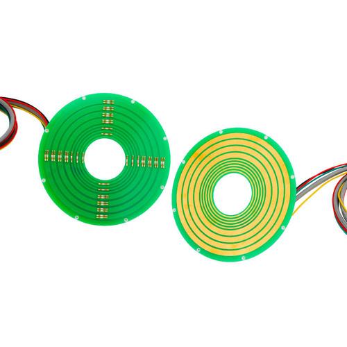 60mm Ethernet Pancake Slip Ring