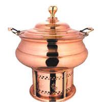 Copper Chaffing Dish Utensil
