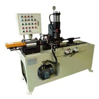 Three Mold Tube End Forming Machine