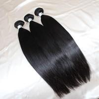 Quality 10A Remy Peruvian Natural Black Straight Hair