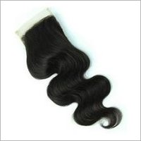 Natural Color Body Wave Lace Closure4X4