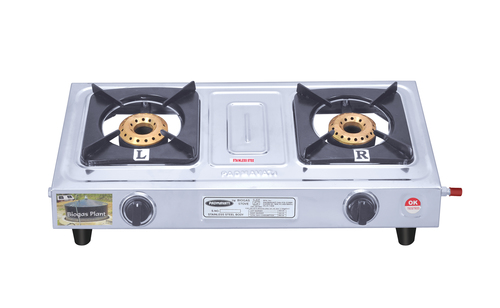 Biogas Stove Double Burner Mini Supreme