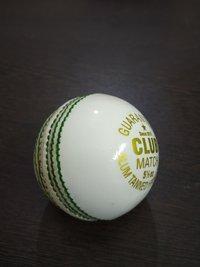 APG Club Match White Leather Cricket Ball