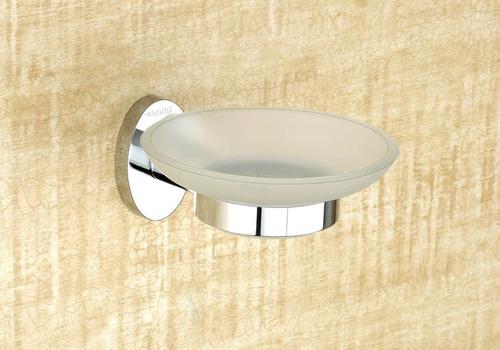 Brass Glass Soap Dish
