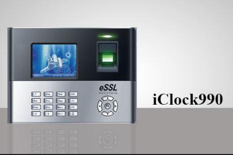 I CLOCK 990 Fingerprint Time Attendance & Access Control System
