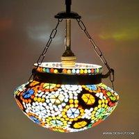 Earthen Metal Handcrafted Hanging Light