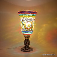 Glass Mosaic Exemplary Table Lamp