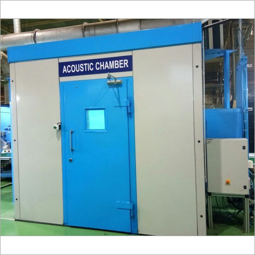 Acoustic Chamber For Conveyor Production
