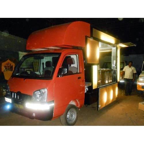 Auto Fast Food Cart