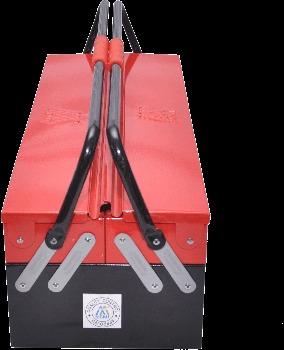 Red Metal Tool Box