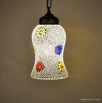 Glass pendant light small for home decor living room balcony