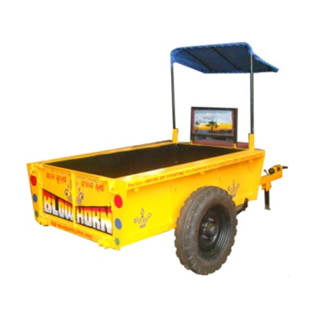 Mini Power Tiller Trolley