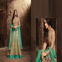 Designer Anarakali Dress Material