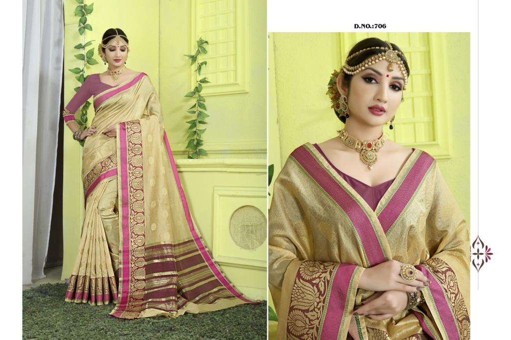 Indian Designer Banarasi Silk Sarees