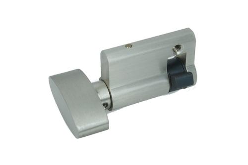 Brass Half Cylinder Lock Knob Type
