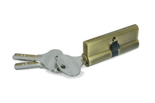 Brass Door Locks (Both Side Key Cylinder)