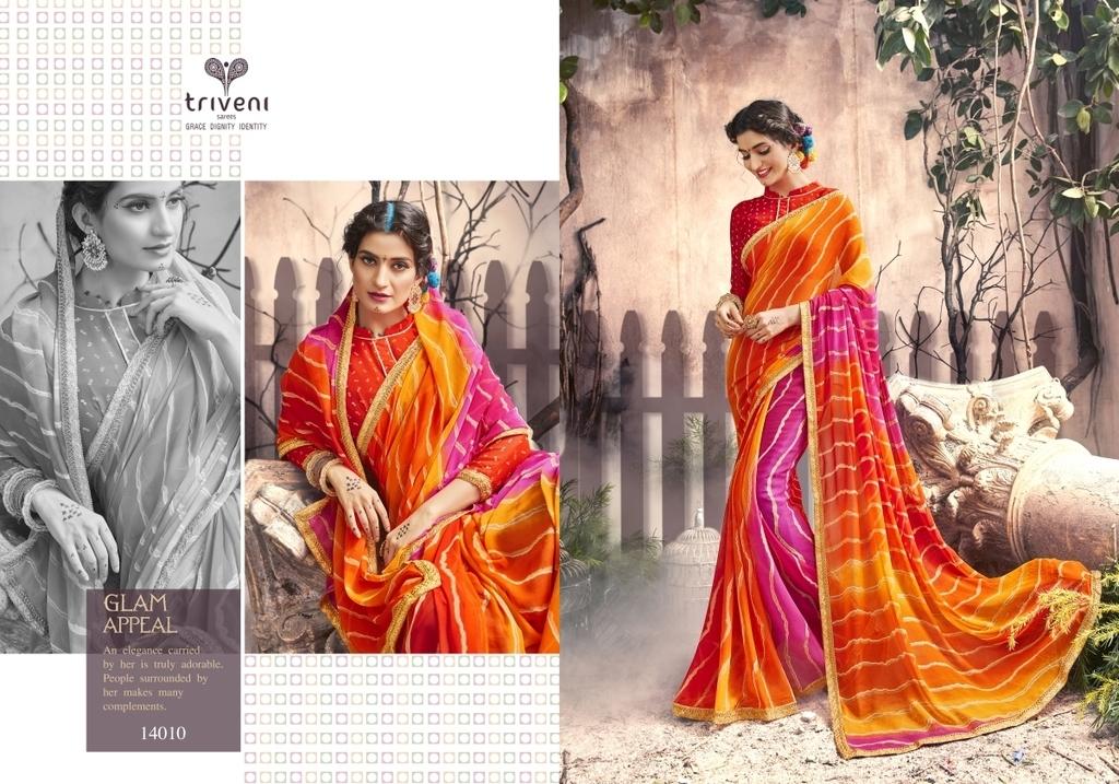 Jaipur Fancy Bandhani Sarees