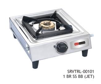 vintage lpg stove 101 one burner ss bb (jet)