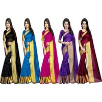 Top Dayed  cotton Sarees