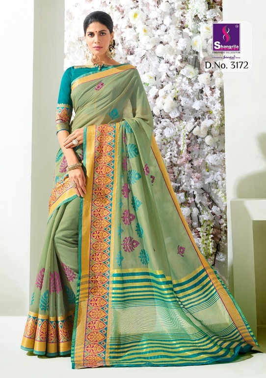 Cotton Silk Weaving Sarees
