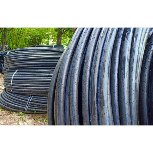 Round HDPE Pipes