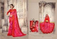 Stylish Georgette Bandhani Sarees