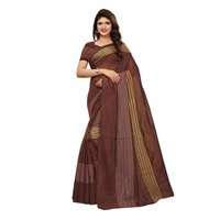 Cotton  zari work saree