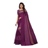 Cotton  zari work saree