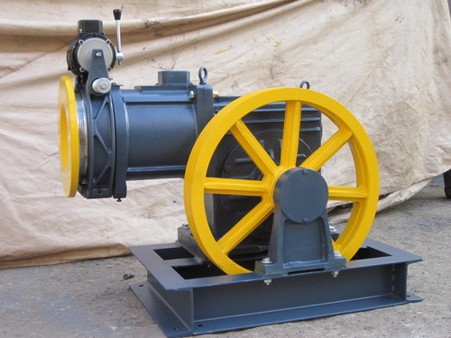 Elevator Gear Motor machine