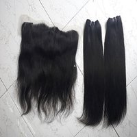 BULK HAIR MACHINE WEFT HAND TIED WEFT CLIPS CLOSURES FRONTALS
