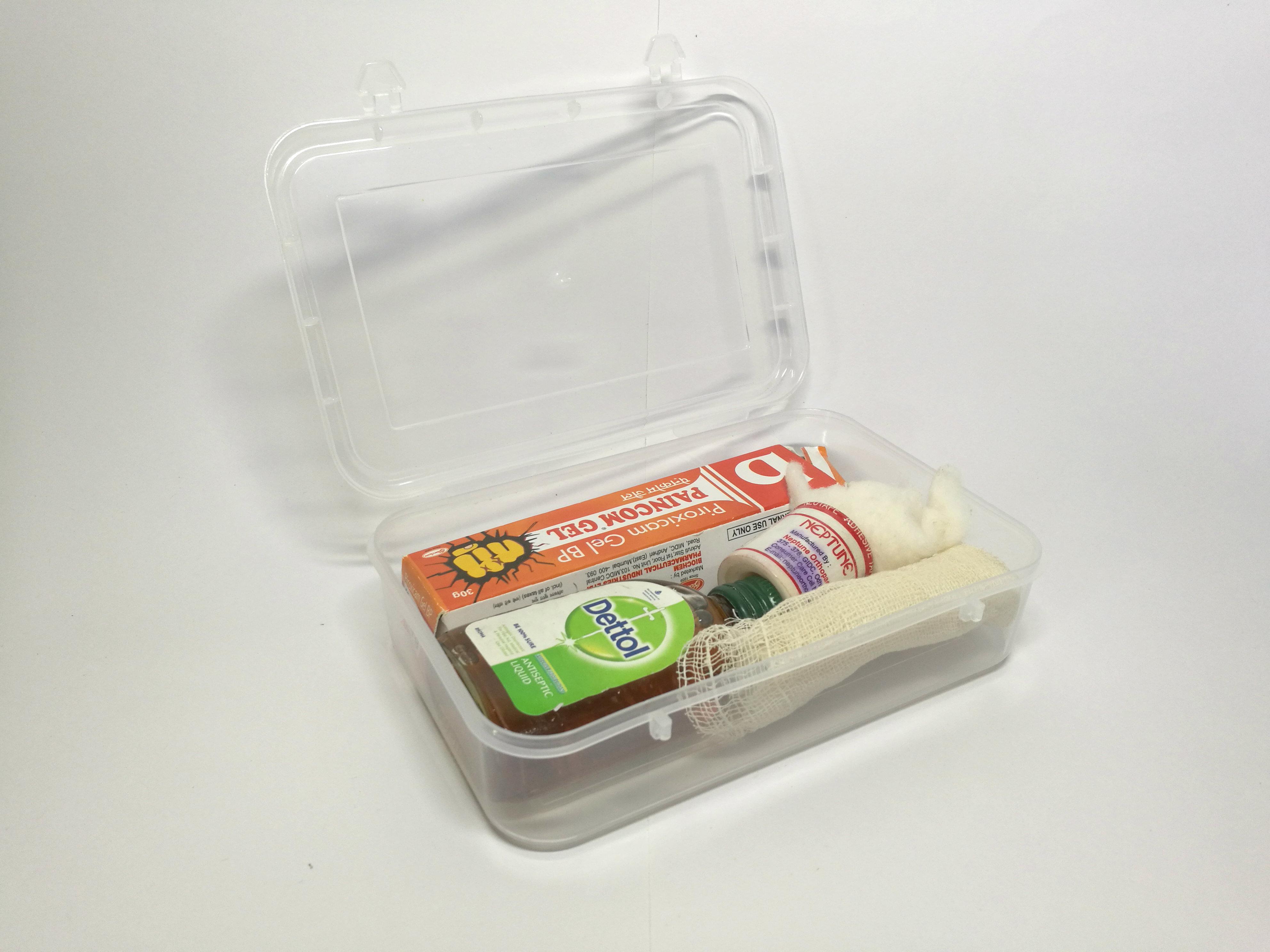 Plastic Medicine Box