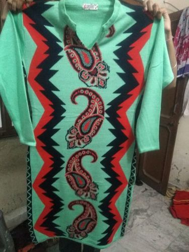 Fancy Ladies Woolen Kurti