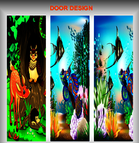 Decorative Digital Door