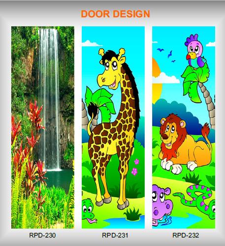 Decorative Digital Door Skin