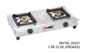 vintage lpg stove 201 two burner ss bb (premier)