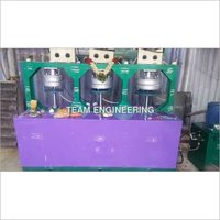 Disposable Areca Leaf Plate Making Machine