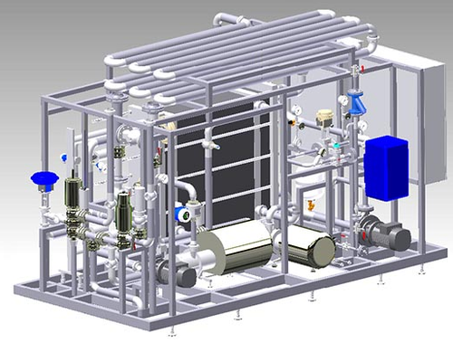 Skid Based Pasteurization Plant