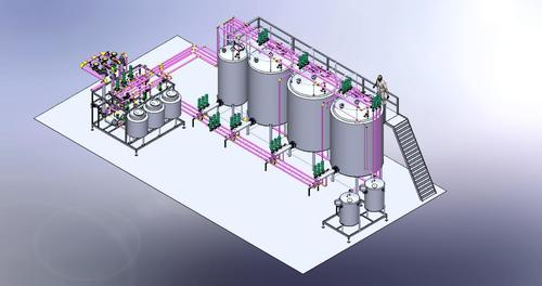 CIP Cleaning Plant