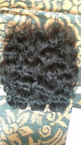 Temple wavy hair