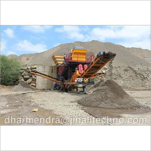 Mobile Screening And Washing Plant