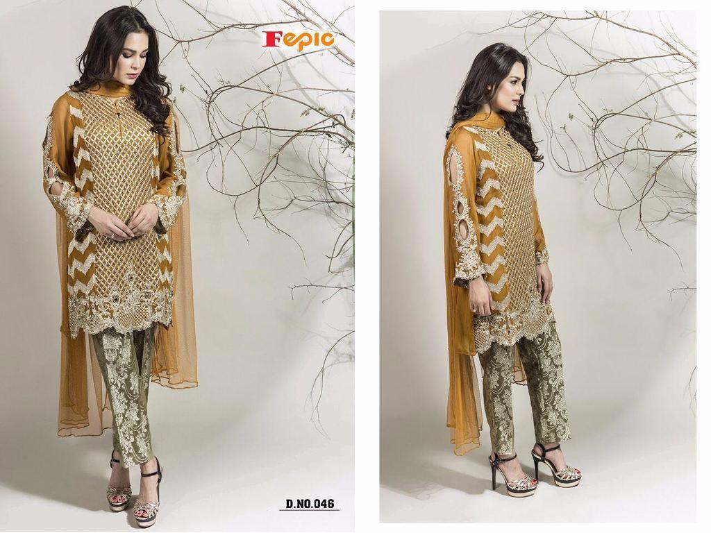 Zara Pashmina Suits