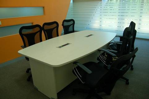 Boat Shaped Conference Table