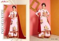 Chanderi Printed Salwar Kameez