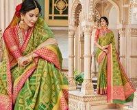 Designer Jacquard Silk Sarees