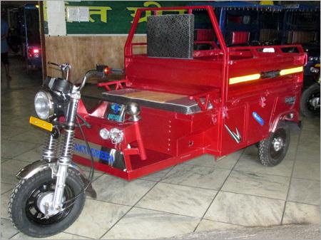 Loader Red E Rickshaw