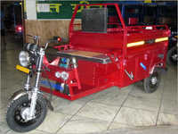 Loader Red E Rickshaw