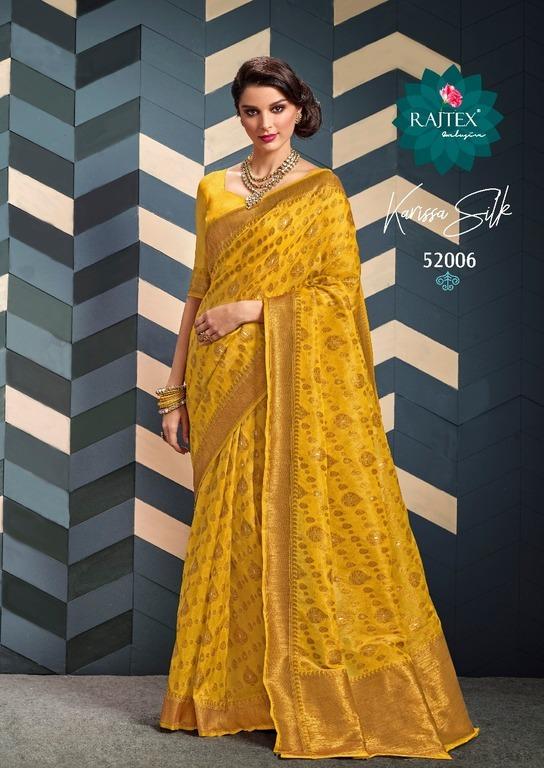 Latest Designer Organza Silk Sarees