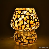 Seap Table lamp Hand made Table lamp Antique Glass Table Lamp Elegant Designs Light Glass Shade Table Lamp
