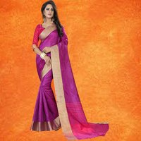 Festive Wear Cotton Sarees