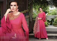 Party Wear Heavy Designer Georgette Kurtis